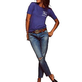 Warp + Weft | LAX - Slim Ankle Crop Jeans