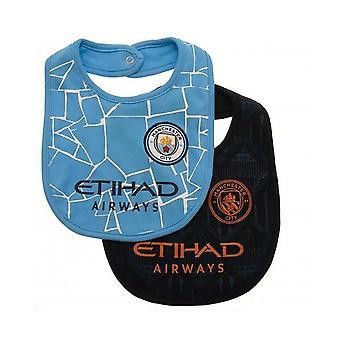 Manchester City FC Bib (Pack of 2)