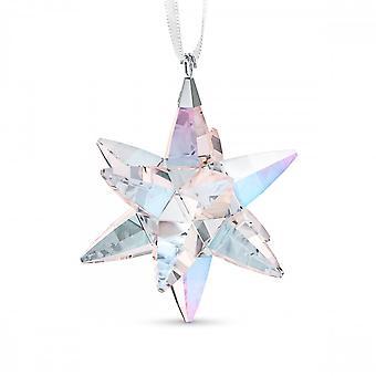 Swarovski Star Ornament Shimmer Medium Crystal Ornament 5545450