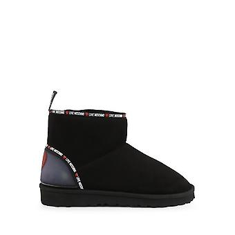 Love Moschino - shoes - ankle boots - JA21033H1BIS_0000 - ladies - black,red - EU 39