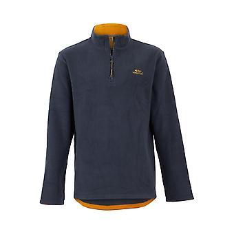 Gene Plain 1/4 Zip Fleece Sweatshirt
