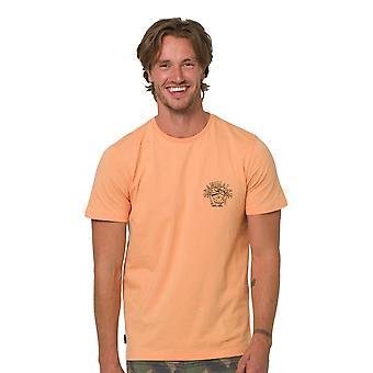 Animal Stork T-Shirt - Coral Sands Orange