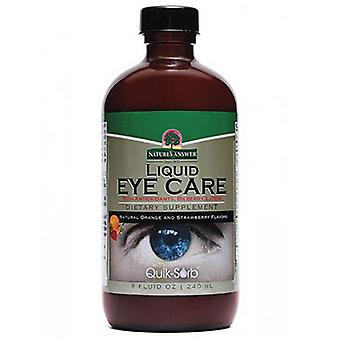 Nature's Answer Liquid Eye Care, Natural Orange & Strawberry, 8 oz