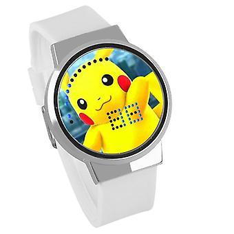 Nepremokavé svetelné LED digitálne dotykové detské hodinky - Pokemon GO #40