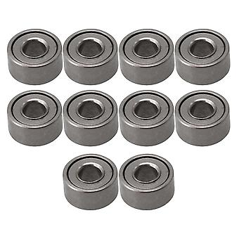 10pieces MR52ZZ Bearing Steel Ball Bearing Miniature 2x5x2.5mm Titanium