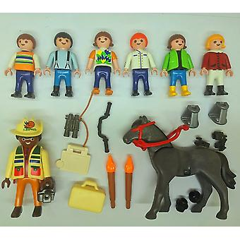 Playmobil Reporter Horse Child Animal Loose Figure