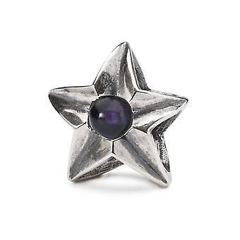 Trollbeads Libra estrella de plata de ley tage TAGBE-00267