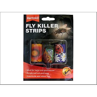 Rentokil Fly Killer Strips x 3 FFL05