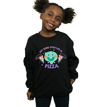 Disney Girls Soul 22 Soul Zweck ist Pizza Sweatshirt