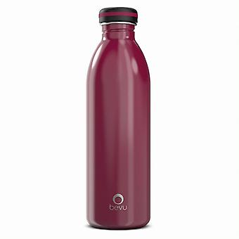 Einwandige Edelstahl-Wasserflasche