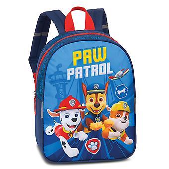 Fabrizio Niños Paw Patrol Boys Mochila 29 cm con función plug-in, Paw Patrol Blue