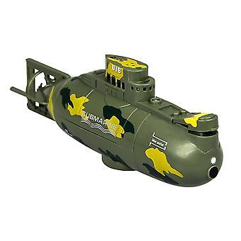 Mini sottomarino barca giocattolo telecomando barca immersioni impermeabili