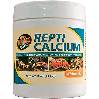 Zoo Med Repti Calcio Sin D3 (Reptiles , Food Supplements)