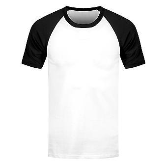 Grindstore Miesten Lyhythihainen Baseball T-paita