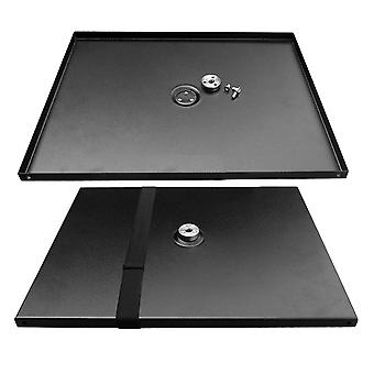 Universal Metal Tray Platform-mount For 3/8inch Tripod Projectors