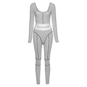 Donna Slim Bodycon Jumpsuit Wear Sportswear