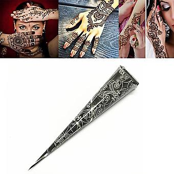 1pcs Indian Henna Tattoo Paste Cone Body Paint Temporary Mehndi Body Art