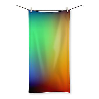 Abstract gradient 2 beach towel