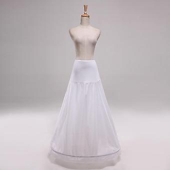 High Waist 1 Hoop Petticoat, A-line Wedding Dress, Bridal Underskirts
