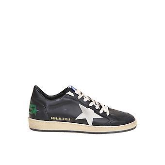 Golden Goose Gmf00117f00038290184 Men's Black Leather Sneakers
