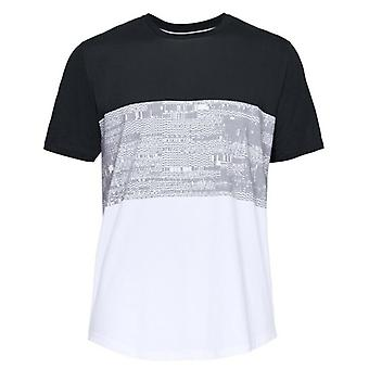 Under Armour Herre Baseline BTB T-shirt Farve Blok Casual Top 1323722 100