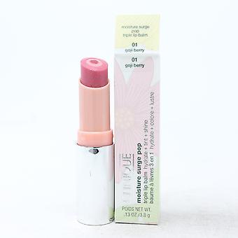 Clinique Moisture Surge Pop Triplo Balsamo labbra 0.13oz/3.8g Nuovo con scatola