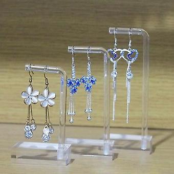Clear Acrylic Hanging Earring Display Stand Case
