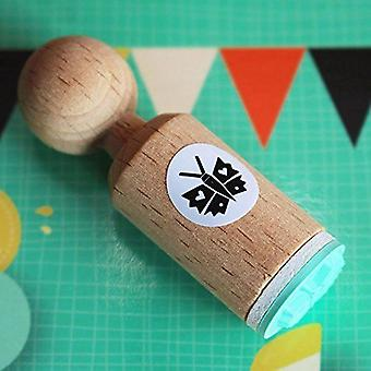 Mini Butterfly Rubber Stamp | Craft Wood Animal Scrapbook Ink