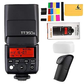 Godox tt350o 2.4g hss 1/8000s ttl gn36 kameran salama speedlite olympus /panasonic peilitön numero