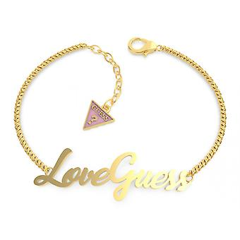 DREAM og LOVE Gæt smykker - Guld Stål armbånd