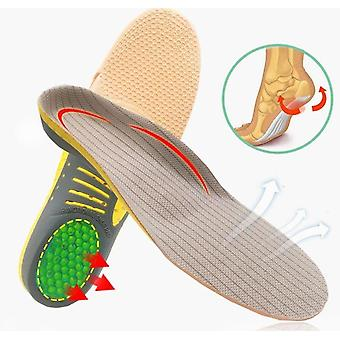 Pvc Orthopedic Insoles Orthotics Flat Foot Health Sole Pads For Feet Care