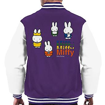 Miffy och den kungliga babyn män & varsity jacka