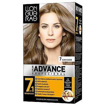 Llongueras Advance hiusten väri väri # 7-Medium Blond