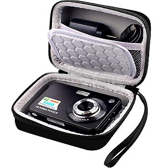 Digital camera bag compatible with abergbest 21 mega pixels 2.7  lcd rechargeable hd digital video s wof43145