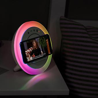 Wilit smart music speaker led night light touch control wireless charging portable child bedroom rgb dimmable bedside lamp