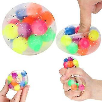 Puristaminen stressin lievittäminen pallo stressi squishy lelut autismin huonot tavat