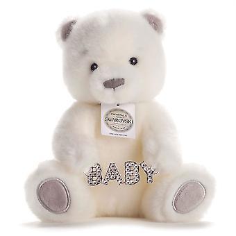 شيك والحب الكبير بيلي الدب مع سواروفسكي كريستال مرصع زجاجة سحر في صندوق الهدايا
