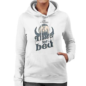The Magic Roundabout Zebedee Time For Bed Women's Hooded Sweatshirt
