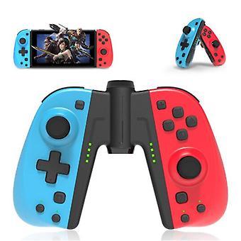 الاشياء المعتمدة ® وحدة تحكم الألعاب لنينتندو التبديل - NS بلوتوث Gamepad الفرح لوحة مع الاهتزاز الأزرق الأحمر