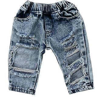 Kinder Broken Hole Hose Hose, Baby ripped Jeans