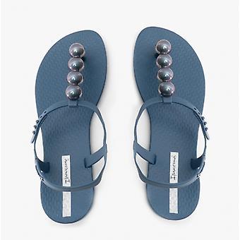 Ipanema Class Sandal Pebble Ladies Sandals Navy Chrome