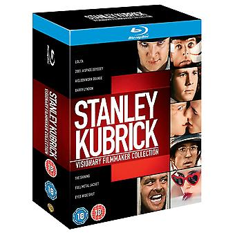 Stanley Kubrick Visionary Filmmaker Collection Blu-Ray