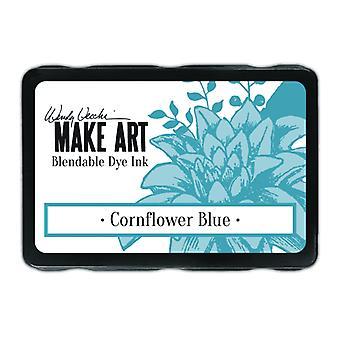 Ranger Wendy Vecchi Gör konst färgämne bläck pad - Cornflower Blue