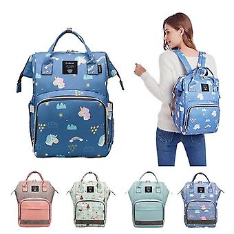 Bolsa de pañales fashion travel, bolsa de pañal impermeable