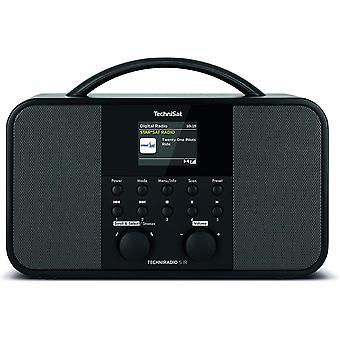 HanFei TECHNIRADIO 5 IR - Stereo DAB+ Internetradio (DAB, UKW, AUX, 2,4 Zoll dimmbares Farbdisplay,