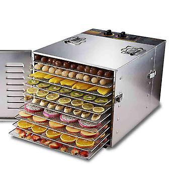 Stainless Steel Food Dehydrator - Mushroom, Fruit & Vegetable Dryer Machine