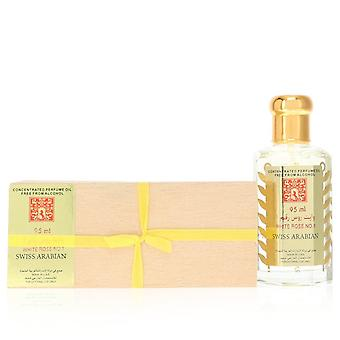 White Rose No 1 par Swiss Arabian Concentrated Perfume Oil Free From Alcohol (Unisex) 3.21 oz