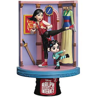 Wreck-It Ralph 2 Ds-054 Mulan D-Stage Series 6in S USA import