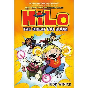 Hilo Book 3 Den store store boomen av Judd Winick