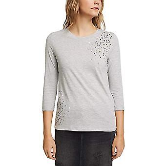 edc by Esprit 011CC1K326 T-Shirt, 044/grey Light 5, L Woman